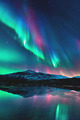 Aurora Borealis  - space photo