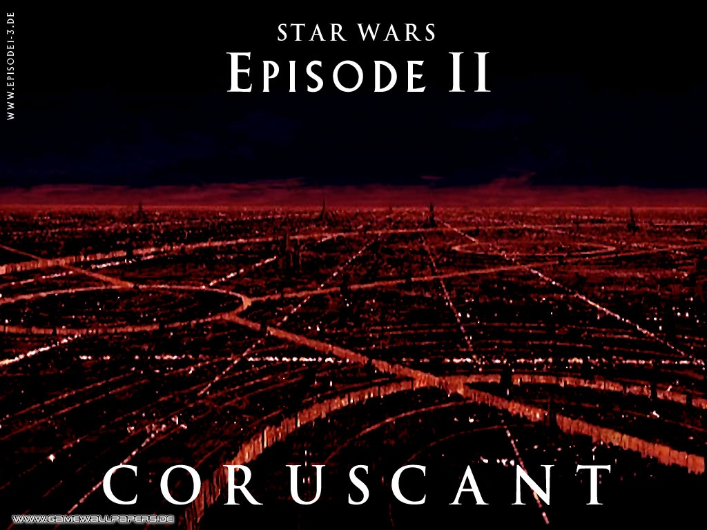 Attack Of The Clones Coruscant Star Wars Attack Of The Clones Wallpaper 36233857 Fanpop