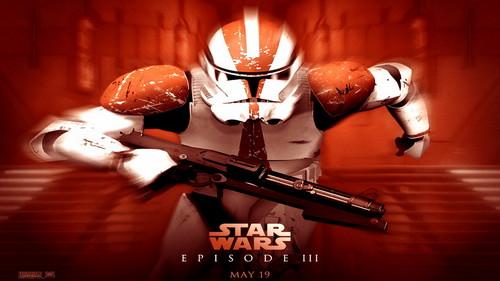 bintang Wars: Revenge of the Sith wallpaper called Revenge of the Sith (Ep. III) wallpaper