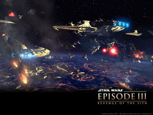 Revenge of the Sith (Ep. III) - Battle Over Coruscant