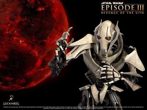 bintang Wars: Revenge of the Sith wallpaper entitled Revenge of the Sith (Ep. III) - General Grievous