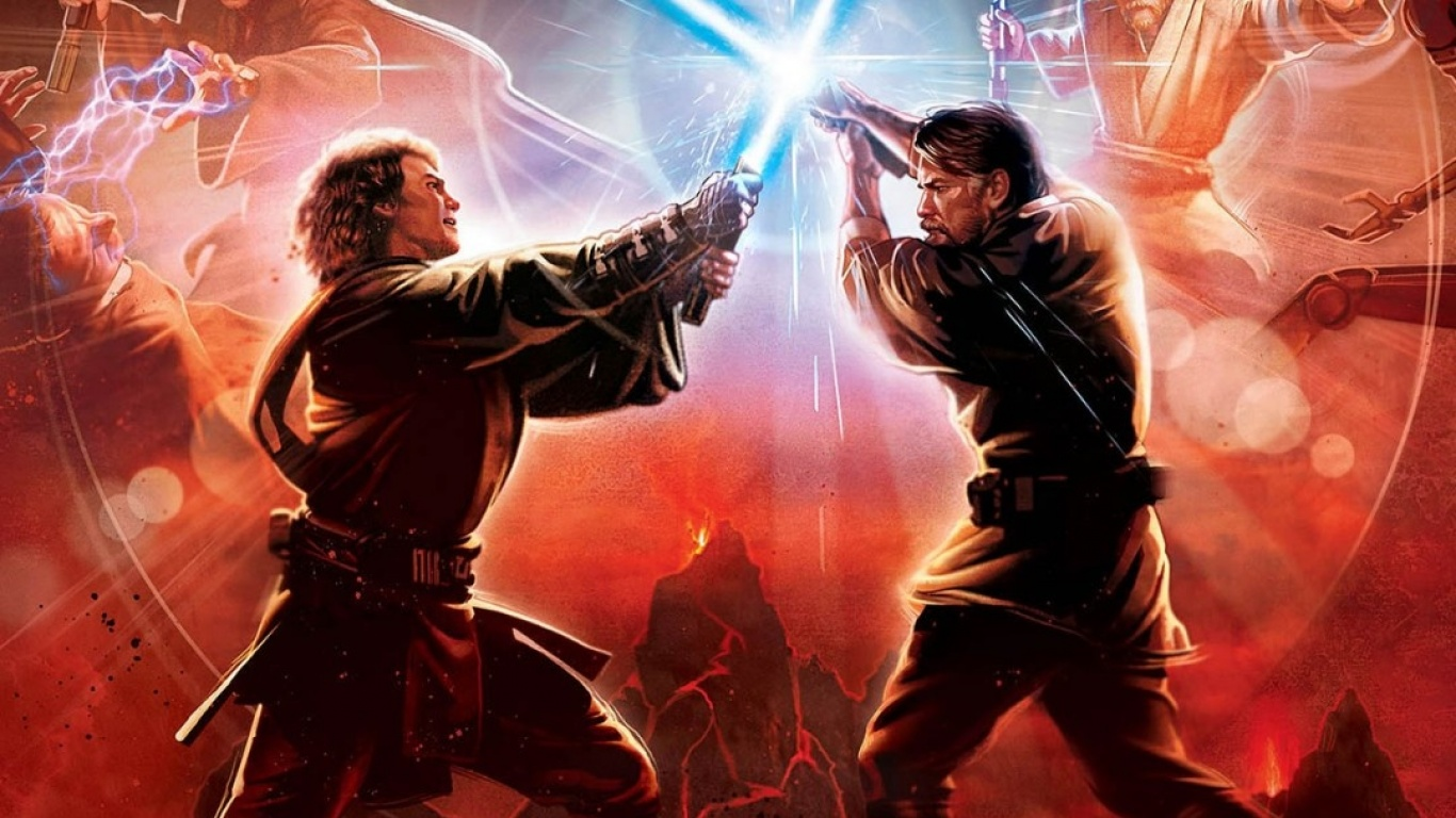 Revenge Of The Sith Ep Iii Anakin Vs Obi Wan Star Wars Revenge Of The Sith Photo 36272535 Fanpop