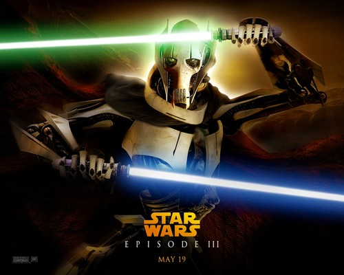 bintang Wars: Revenge of the Sith wallpaper probably containing a multiplex, an internal combustion engine, and a turntable, meja putar titled ROTS (Ep. III) - General Grievous