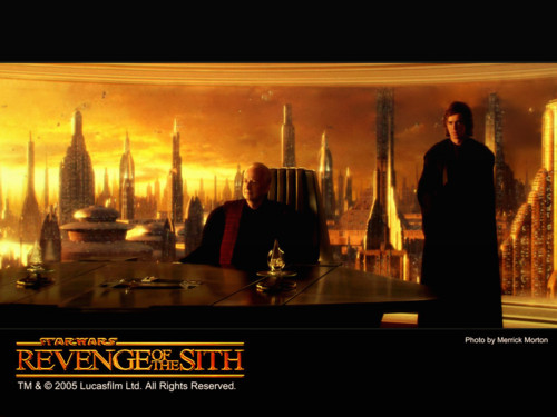 bintang Wars: Revenge of the Sith wallpaper possibly containing a konser titled Revenge of the Sith (Ep. III) - Palpatine & Anakin
