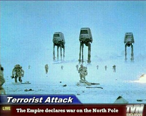 The Empire declares war on the North Pole.