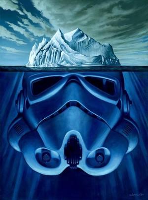 Stormtrooper iceberg