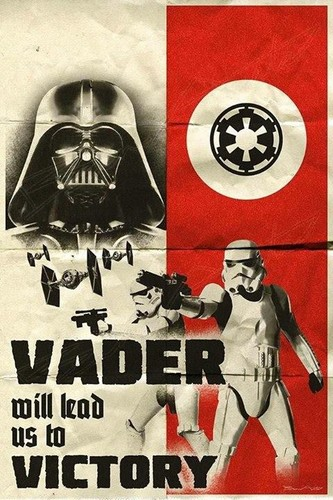 étoile, étoile, star Wars fond d'écran containing animé titled Vader WW2 poster