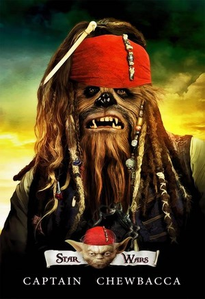 étoile, star Wars Captain Chewbacca