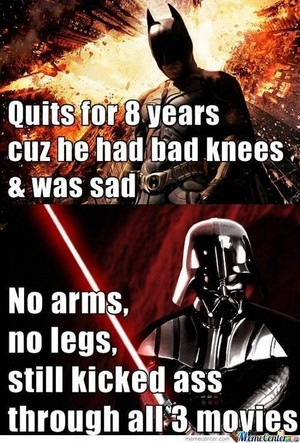 Darth Vader is badass