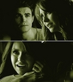 Stefan & Elena - the-vampire-diaries-tv-show fan art