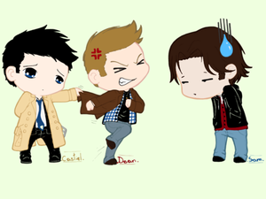 Cast,Dean,and Sam