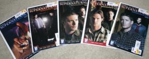 Supernatural Comic books.