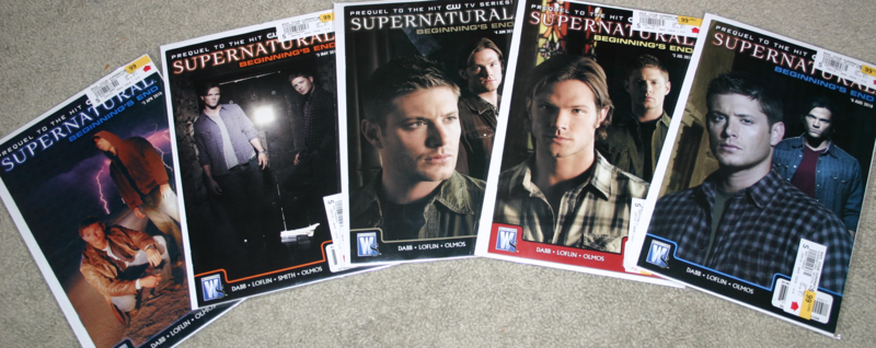 Supernatural Comic Book