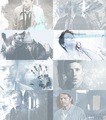 Castiel and Dean - supernatural fan art