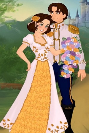 Flynn and Rapunzel wedding