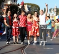 TBM at the Disney Christmas Parade - teen-beach-movie photo