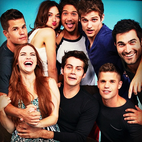 Teen Wolf wallpaper probably with a portrait entitled Teen Wolf Cast TV Guide Comic Con Photoshoot