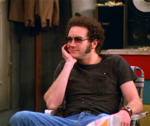 Шоу 70-х Обои probably containing a sign and a улица, уличный entitled Steven Hyde