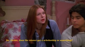 Donna and Kelso Speaking About College