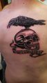 The Expendables fan tattoo
