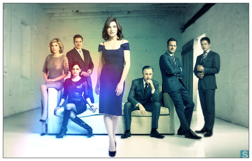 The Good Wife wallpaper containing a well dressed person and a business suit called The Good Wife Cast