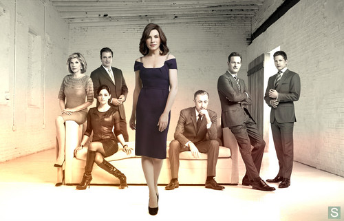 The Good Wife wallpaper probably containing a maillot, a leotard, and tights entitled The Good Wife Cast