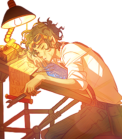 The Heroes of Olympus achtergrond called Leo Valdez