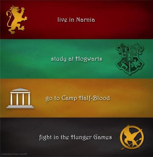 Go To Camp Half Blood