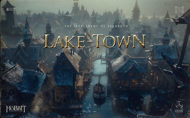 The Settlement of Esgaroth - Lake-Town