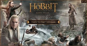 The Hobbit: The Desolation of Smaug - Barrel Escape Game