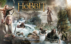 The Hobbit: The Desolation of Smaug 바탕화면