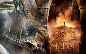The Hobbit: The Desolation of Smaug karatasi la kupamba ukuta