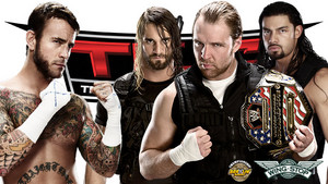 WWE TLC: The Shield vs CM Punk