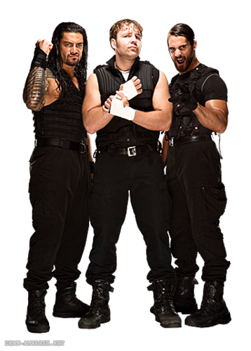 The Shield (WWE) wallpaper probably with a business suit called The Shield
