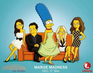 Marge Madness on 'Project Runway'