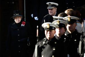 The UK Observes Remembrance Sunday