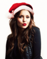 nina christmas - the-vampire-diaries-tv-show photo