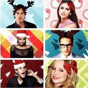 tvd cast christmas