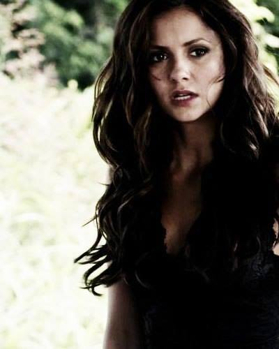 Vampire Diaries Hintergrund with a portrait titled katherine pierce