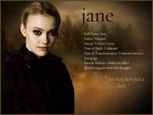Jane facts <3