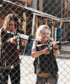 Maggie and Beth - the-walking-dead photo