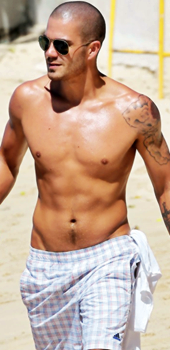 Sexy Max George Shirtless !!!