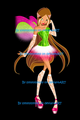 Flora Faithix - the-winx-club fan art