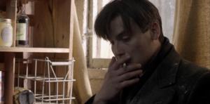 Thomas smoking