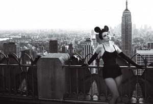 Tina Fey for Vogue