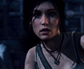 Lara's new face.