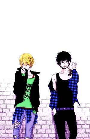 Yamaken and Haru