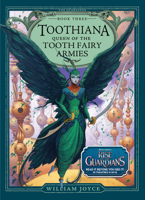 Toothiana in the Guardians Bücher