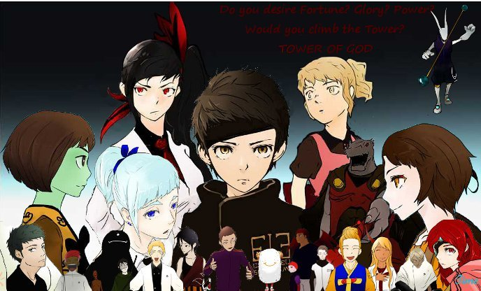 Tower of God characters - Tower of God photo (36252148) - fanpop