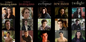 From Twilight to Breaking Dawn part 2